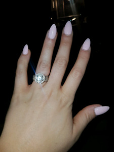 Engagement Ring - Just under 3 carats