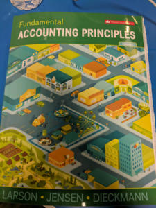 Fundamental Accounting Principles Vol 1. Fifteenth Canadian Edit