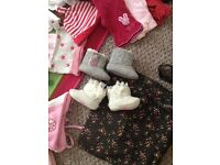 Large bundle of baby girls 0-3 months clothing