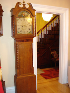 Antique Grandfather Clock- Warranty,Delivery Setup Included