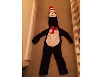 Cat in the hat costume age 3-5 book day