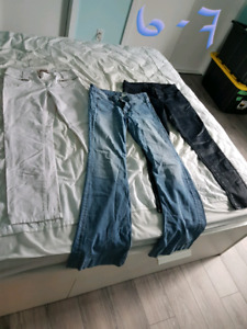 Plusieurs pantalons !!!