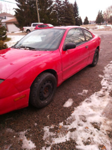 Pontiac sunfire with winter tires