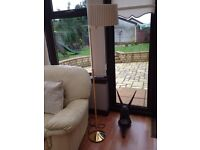 2 Matching Lamps With Lamp Shades Included