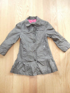 Mexx Girls Fall/Spring Water Resistant Coat - Size 5/6