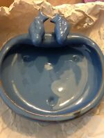 Bird bath porcelain