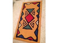 Lovely bright rug - great for kids bedroom!