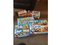 Thomas & Friends jigsaw/DVD and collect able book bundle
