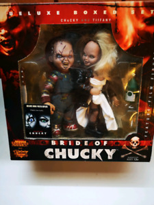 McFarlane movie maniacs 2 bride of chucky boxed set