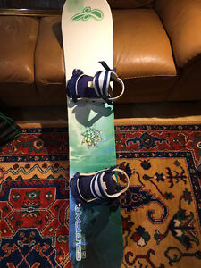 Division 23 snowboard with Limited Elite 77 bindings