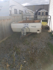 Tent/utility trailer