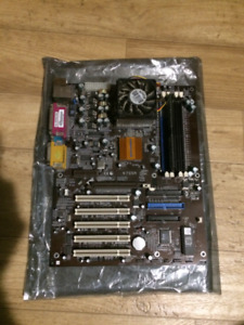 Desktop Motherboard SOCKET 462 + AMD CPU & Cooling Fan