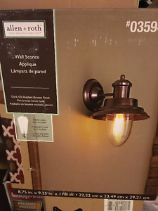 ALLEN + ROTH WALL SCONCE (6)