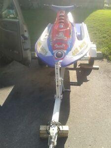 sl 650 w/extra motor & cdi box $1400 or $1800 w/trailer