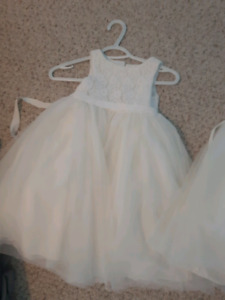 2 dresses size 3 and 4