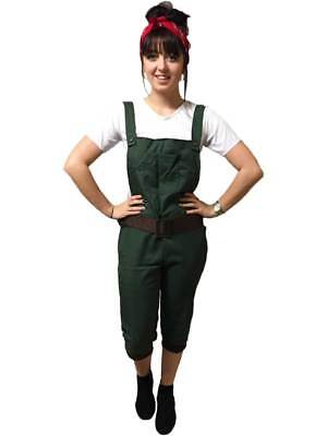 WW2 1940s Land Girl Womens Army World War 2 Fancy Dress Costume Size UK (1940 Fancy Dress Kostüme)