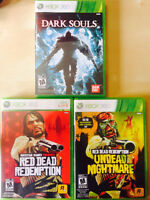 XBOX360 - Red Dead Redemption - RDR Expansion - Dark Souls