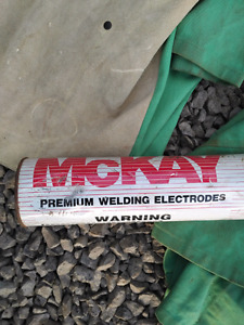Welding rods and XL welding  shirts