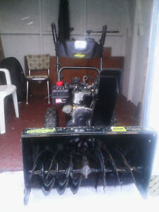 "Yardworks 10.5 /30"" cut snow blower with canopy"
