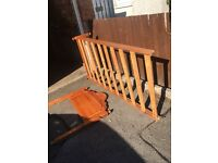 PINE SINGLE BED ** FREE DROP OFF WEDNESDAY **