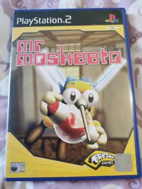 Mr moskeeto ps2 PlayStation 2 game rare
