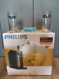 PHILLIPS PERFECT DRAFT, FREE GLASSES - BRAND NEW