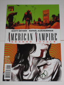 Vertigo American Vampire: Second Cycle#1 Scott Snyder comic book