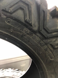 "Full set of 27 x 14"" take off Maxis Big Horn 2 tires"