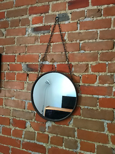 Metal Small Round Decorative Wall Mirror Miroir Petit