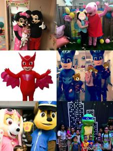 DIY KIDS PARTY ENTERTAINMENT! Paw Patrol Peppa PIG ELMO MINNIE