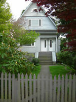 KITSILANO-PT GREY-UBC-BEACH-PRIVATE-LAUNDRY-CLEAN-QUIET-YARD...