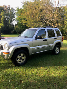 2002 Jeep Liberty 3.7L 4X4 For sale
