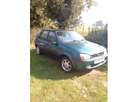 Excellent Ford Fiesta Zetec with 10 month Free MOT on it