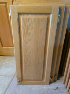 SOLID OAK CUPBOARD DOORS AND DRAWER FRONTS