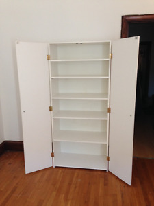 URGENT-Moving Sale-Shelves, coffee table, mirrors, white cabinet