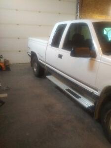 SOLD.  1998 Chevrolet 1/2 ton diesel C/K Pickup 1500 L/t Pickup
