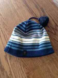 Striped Smartwool Hat