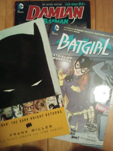 10$ DC comic books