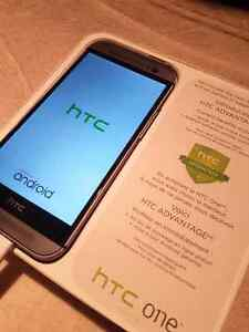 HTC one M8 (for rogers wireless) mint 9 of 10 shape.