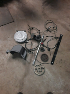 Snowblower parts