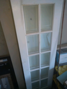 """Two 24x80"""" french doors"""