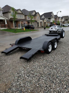 CAR HAULER TRAILER FOR RENT - CALL TODAY!