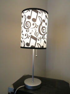 Musical Notation Table Lamp