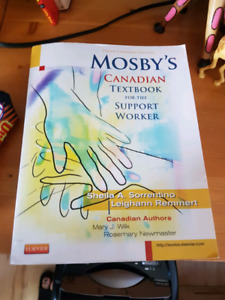 Personal support worker textbook