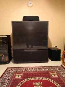 55 inch projection TV. Great condition. Has HDMI