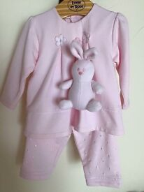 Emile et Rose Baby Girl's Outfit (6 months)