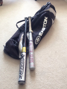 Baseball Bag with Kids' and Youth Bats