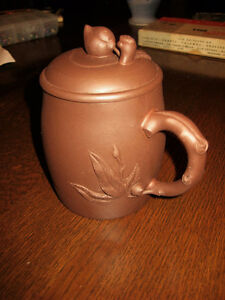 Chinese Yixing Clay Mug with Lid