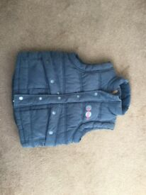 Fat face gilet great condition 4-5 years old