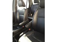 Honda Crv black leather seats